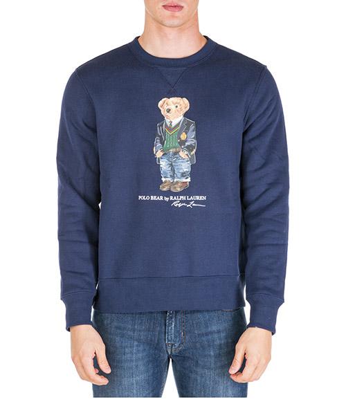 Maglione Polo Ralph Lauren bear 710766808001 blu