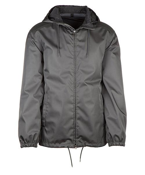Men's outerwear jacket blouson hood gabardine