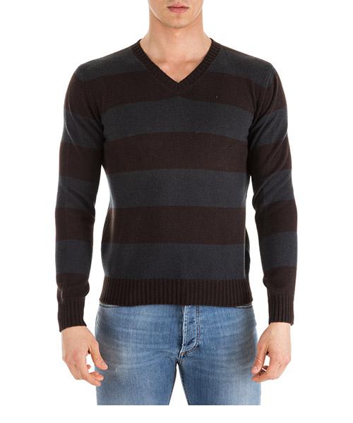 Pullover Prada UMN223 QUB F0342 marrone