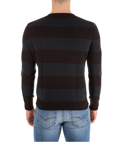 Men's v neck jumper sweater pullover secondary image