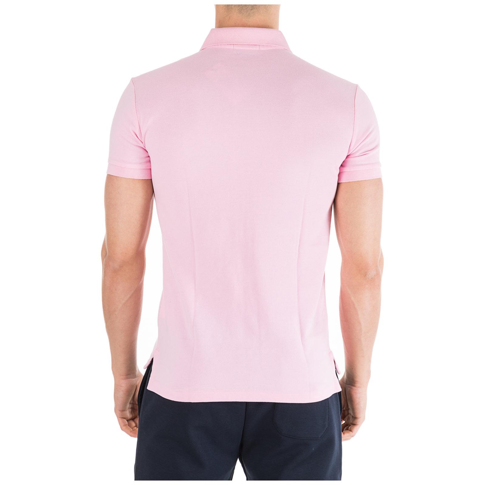 Camiseta de manga corta cuello de polo hombre
