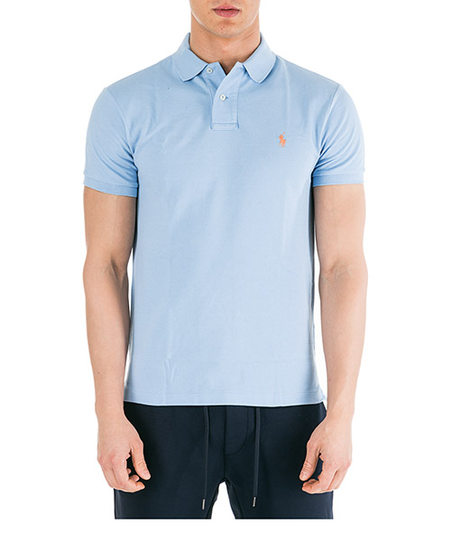 Poloshirt Ralph Lauren 710536856155 azzurro
