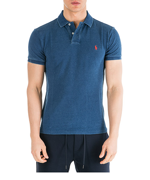 Polo shirts Ralph Lauren 710536856160 blu