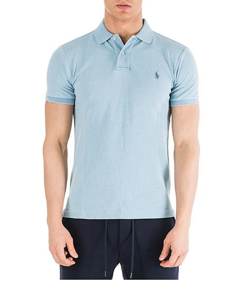 Рубашка поло Ralph Lauren 710536856169 azzurro