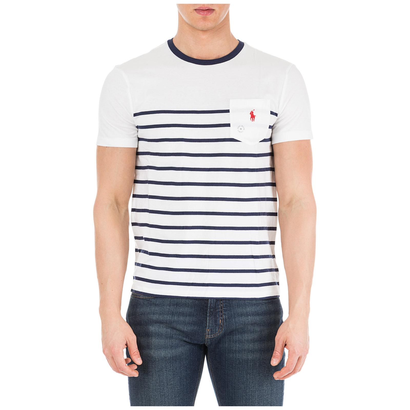 e9cb38a6a837 T-shirt Ralph Lauren 710740886 001 bianco | FRMODA.com