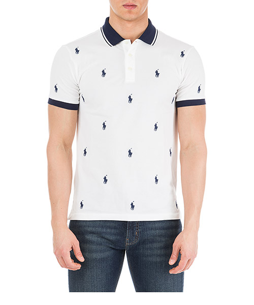 Men's short sleeve t-shirt polo collar