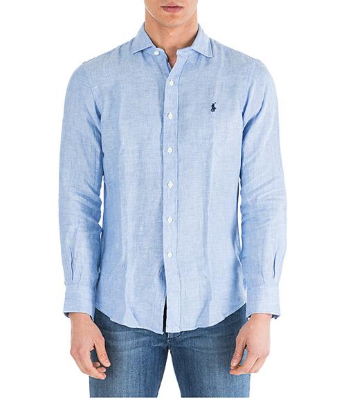 Camicia Ralph Lauren Classic 710740806002 blue