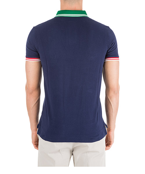 Men's short sleeve t-shirt polo collar custom slim-fit secondary image