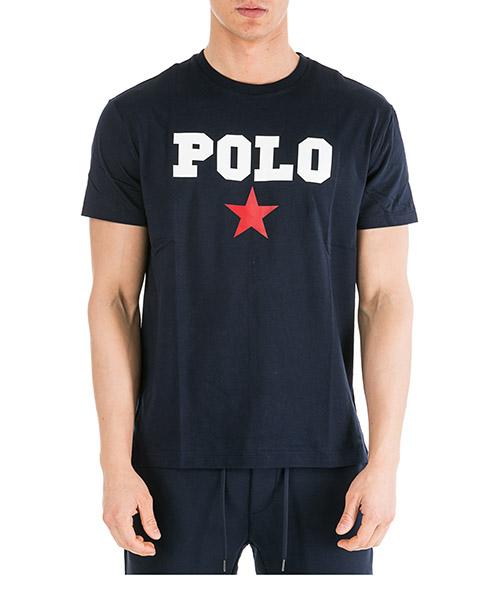 T-shirt Ralph Lauren 710741389001 blu