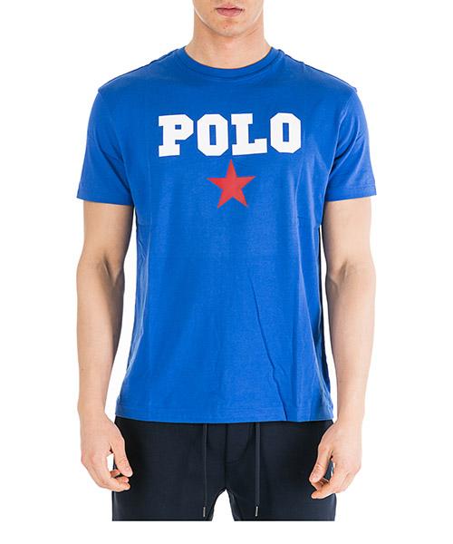 T-shirt Ralph Lauren 710741389007 blu
