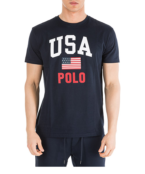 Camiseta Ralph Lauren 710743917001 blu