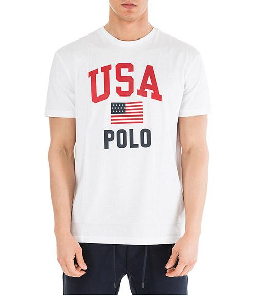 T-shirt Ralph Lauren 710743917002 bianco