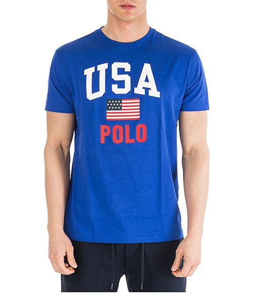 T-shirt Ralph Lauren 710743917004 blu