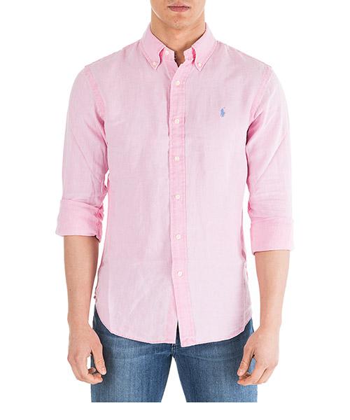 Camicia Ralph Lauren Classic 710744906005 rosa