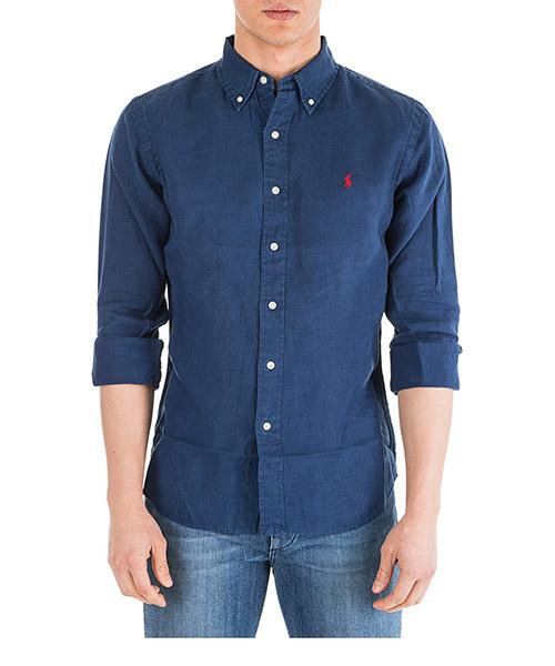 Camicia Ralph Lauren Classic 710744906006 navy