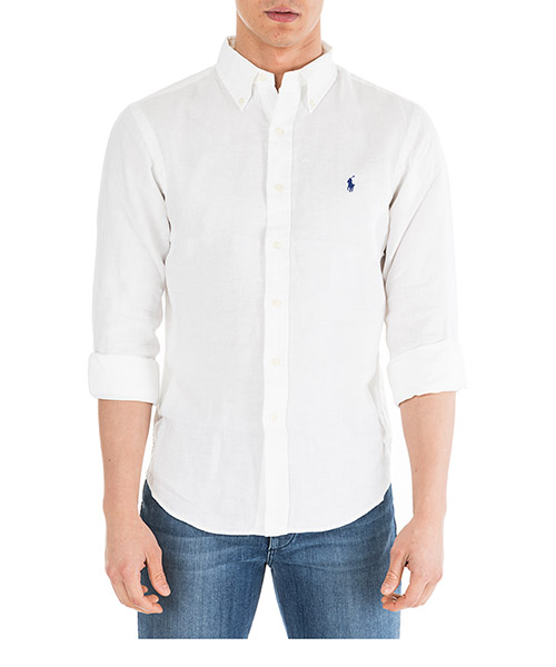 Camicia Ralph Lauren Classic 710744906008 white
