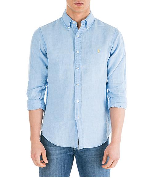 Camicia Ralph Lauren Classic 710744906009 blue