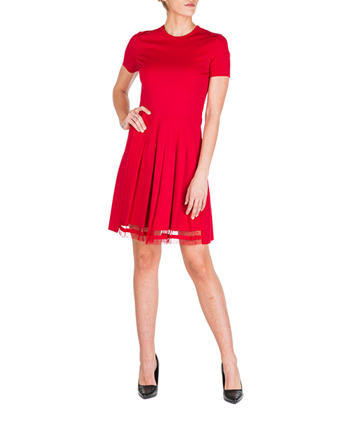 Robe courte  Red Valentino SR3MJ01W4E8 D05 rosso