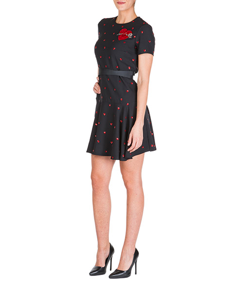 Robe courte  Red Valentino SR3VA03K4CH 0NO nero