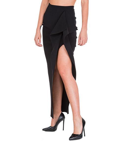 Maxi skirt Rick Owens RO19F5683KST09 nero
