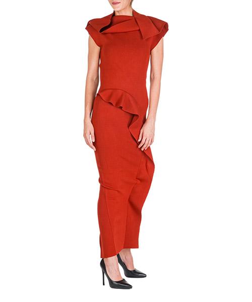 Vestidos largos Rick Owens RO19F5686KST03 rosso