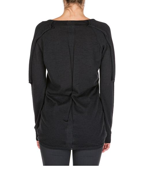 Suéter con cuello en v sweater de mujer secondary image