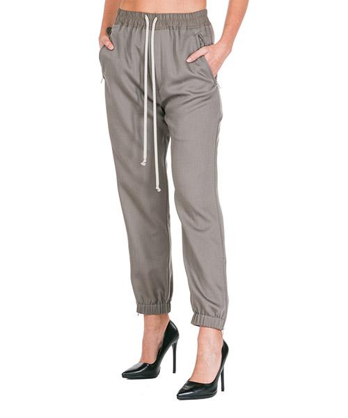 Trousers Rick Owens RP19F5313WT34 grigio