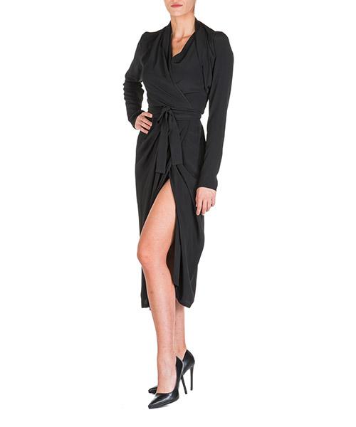 Vestito al ginocchio Rick Owens larry rp19f5554cc09 nero