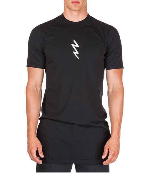 T-shirt Rick Owens rr19f4205rnem10921 nero