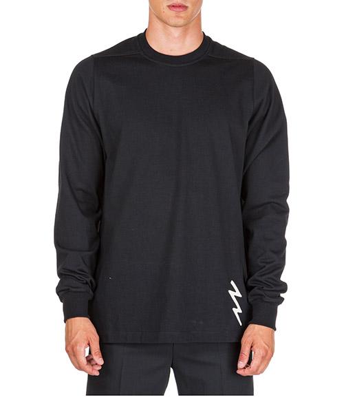 Sweatshirt Rick Owens RR19F4277BAEM10921 nero