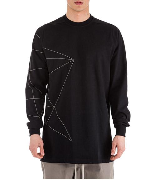 Sweatshirt Rick Owens RR19S2210BAE09 08 nero