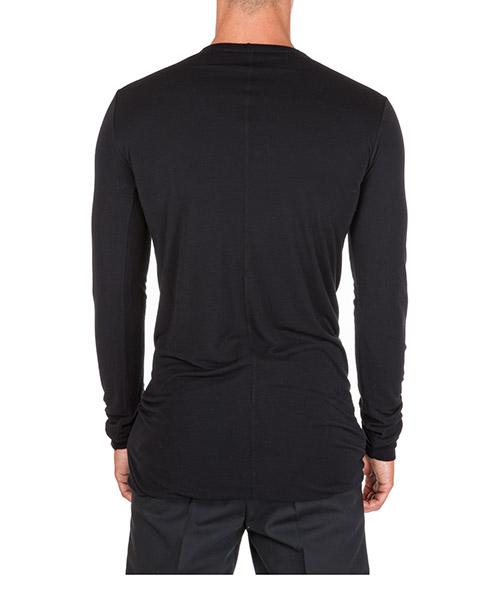 T-shirt maglia maniche lunghe girocollo uomo secondary image