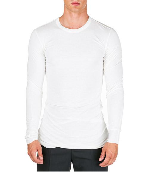 T-shirt Rick Owens ru19f4257js11 bianco