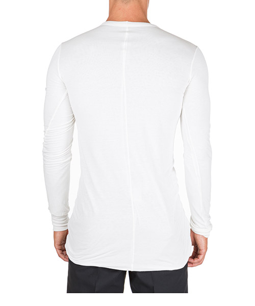 Men's long sleeve t-shirt crew neckline secondary image