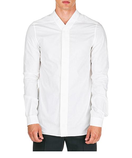 Camicia Rick Owens ru19f4298p11 bianco