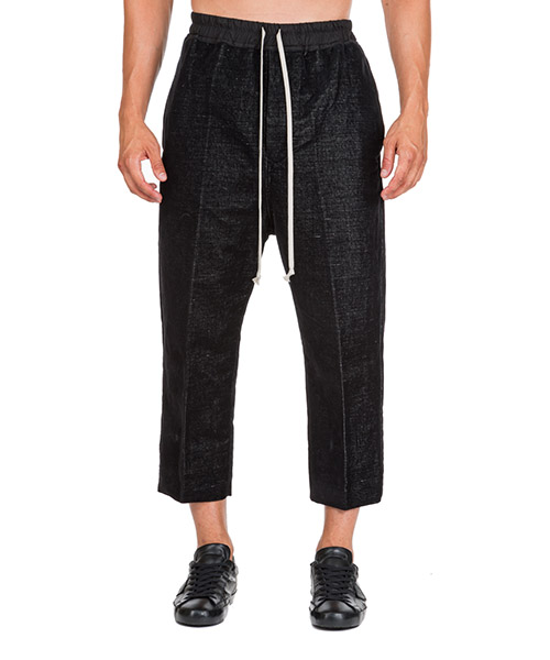 Pantalone Rick Owens astaires ru19f4395vm09 nero
