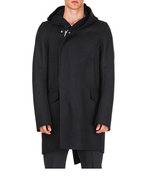 Coats Rick Owens Sisy RU19F4980DDW09 nero