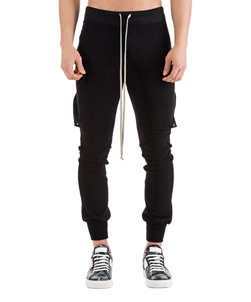Sport trousers  Rick Owens RU19S2396BA 09 nero