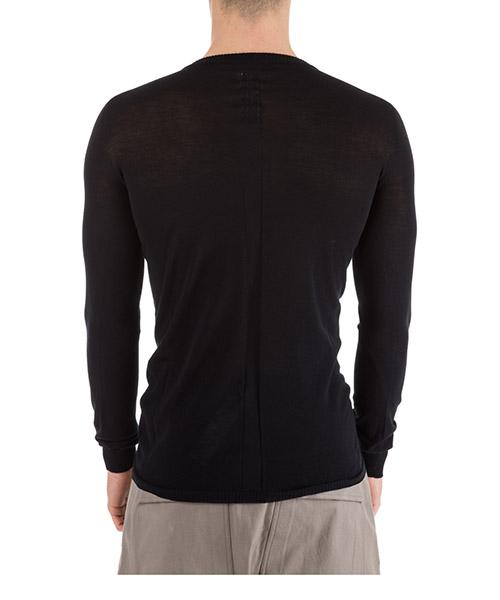 Men's long sleeve t-shirt crew neckline biker secondary image