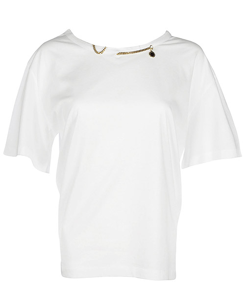 T-shirt Stella Mccartney 414334SGW449000 bianco