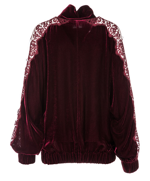 Women's sweatshirt zip up lily secondary image