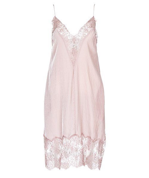 Vestito al ginocchio Stella Mccartney 525618SJB245763 rosa