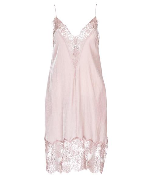 Vestido hasta la rodilla Stella Mccartney 525618SJB245763 rosa