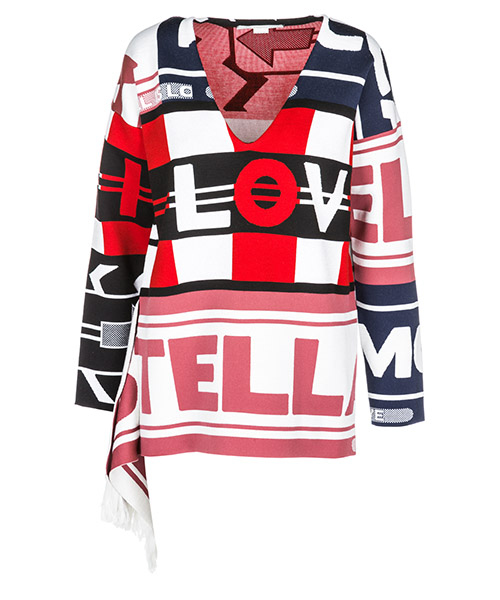 Pullover Stella Mccartney All is love 526683S19038492 bianco