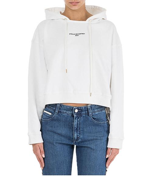 Kapuzensweatshirt Stella Mccartney 530914SMW369000 bianco