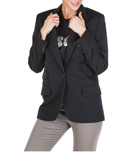 Blazer Stella Mccartney 567071shb551000 nero