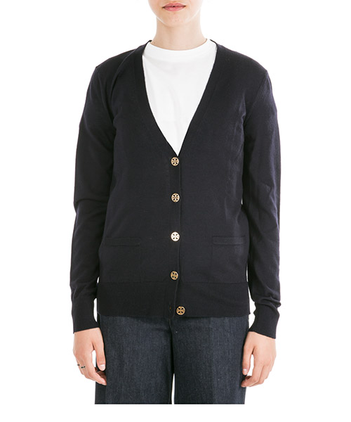Cardigan Tory Burch Madeleine 36369 411 medium navy