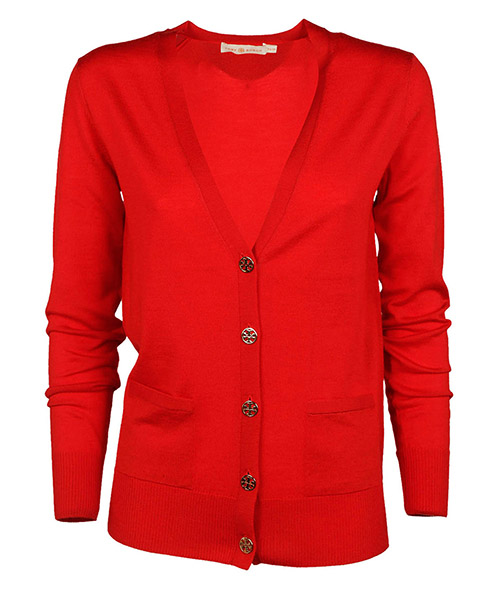 Cardigan Tory Burch 36369610 volcano red