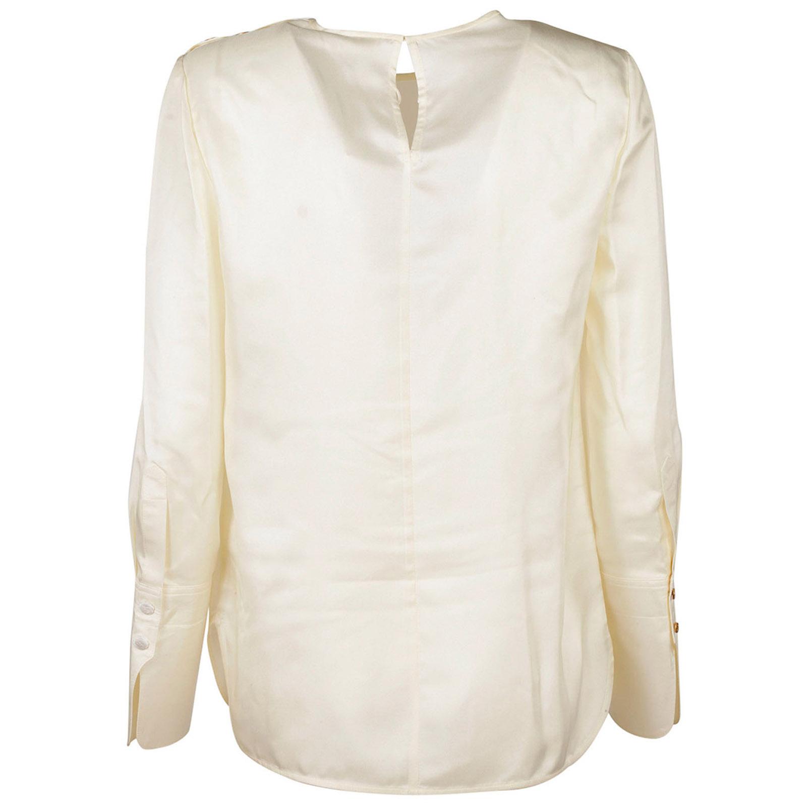 Camisa de mujer con mangas largas blusa