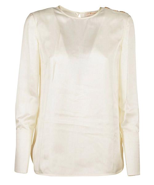 Shirt Tory Burch 38303104 bianco